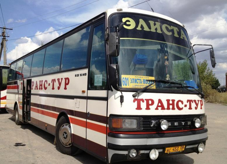поездки на микро автобусах москва элиста